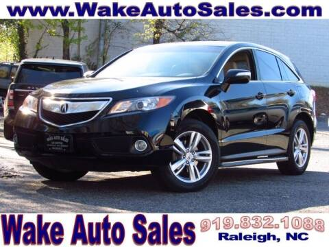 2014 Acura RDX for sale at Wake Auto Sales Inc in Raleigh NC