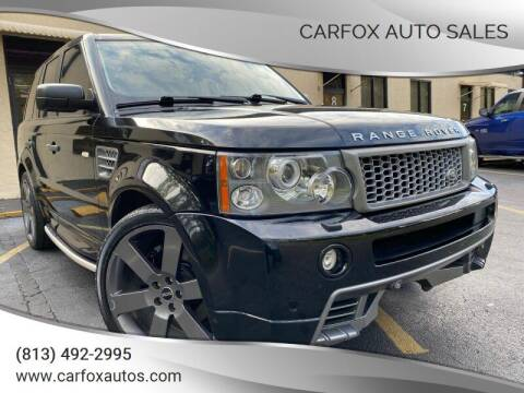 2009 Land Rover Range Rover Sport for sale at Carfox Auto Sales in Tampa FL