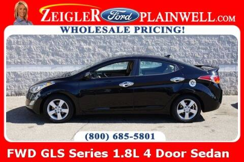 2012 Hyundai Elantra for sale at Zeigler Ford of Plainwell- Jeff Bishop in Plainwell MI