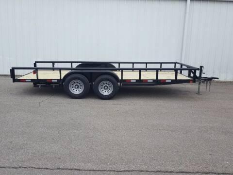 2020 CEN TEX 7X18 Mid Duty Pipe Top for sale at Longhorn Motors in Belton TX