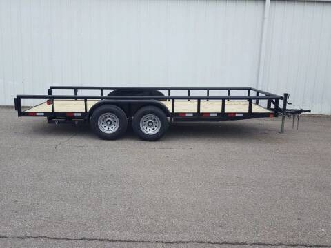 2021 CEN TEX 7X18 Mid Duty Pipe Top for sale at Longhorn Motors in Belton TX
