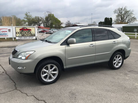 2009 Lexus RX 350 for sale at Cordova Motors in Lawrence KS