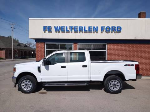 2021 Ford F-250 Super Duty for sale at Welterlen Motors in Edgewood IA