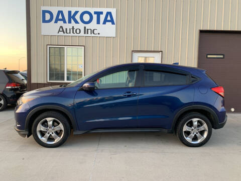 2017 Honda HR-V for sale at Dakota Auto Inc. in Dakota City NE