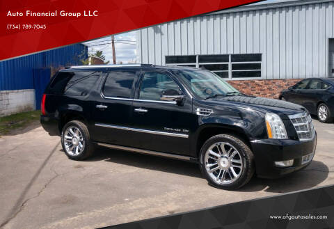 2010 Cadillac Escalade ESV for sale at Auto Financial Group LLC in Flat Rock MI