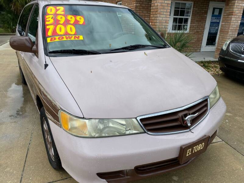 2002 Honda Odyssey for sale at MITCHELL AUTO ACQUISITION INC. in Edgewater FL