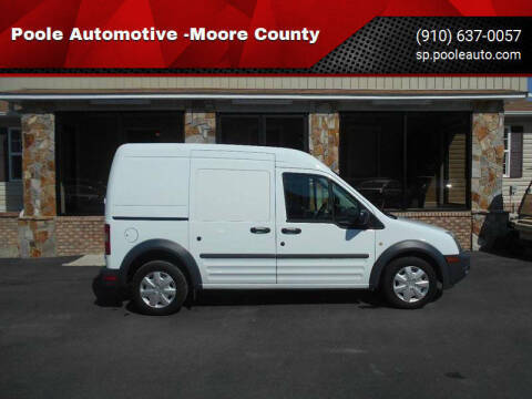 2012 Ford Transit Connect for sale at Poole Automotive in Laurinburg NC