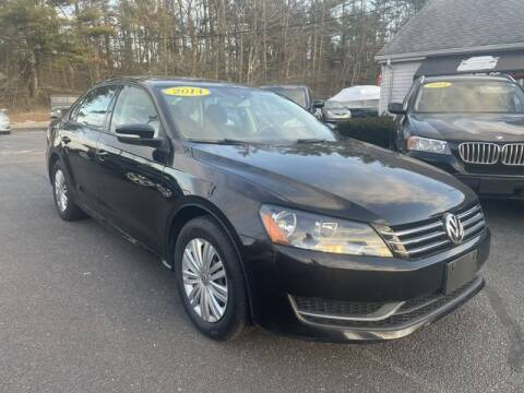 2014 Volkswagen Passat for sale at Clear Auto Sales 2 in Dartmouth MA