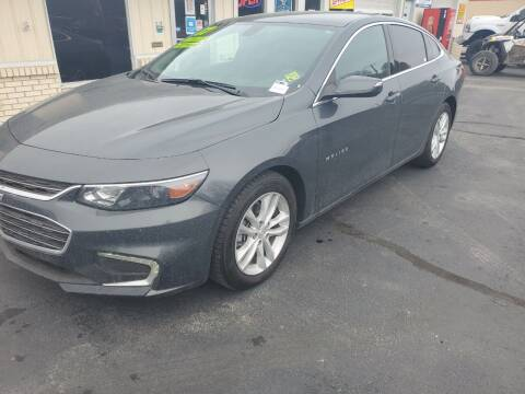 2017 Chevrolet Malibu for sale at Bailey Family Auto Sales in Lincoln AR