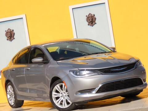 2015 Chrysler 200 for sale at Paradise Motor Sports LLC in Lexington KY