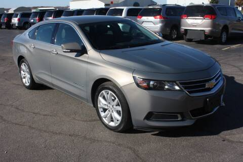 2017 Chevrolet Impala for sale at New Mobility Solutions in Jackson MI