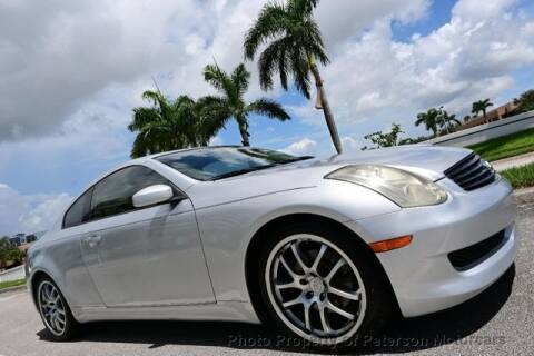 2006 Infiniti G35 for sale at MOTORCARS in West Palm Beach FL