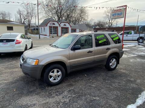 2001 Ford Escape for sale at PEKIN DOWNTOWN AUTO SALES in Pekin IL