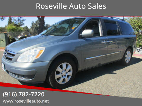 2007 Hyundai Entourage for sale at Roseville Auto Sales in Roseville CA