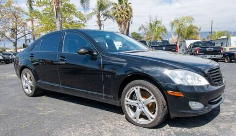 2007 Mercedes-Benz S-Class for sale at GQC AUTO SALES in San Bernardino CA