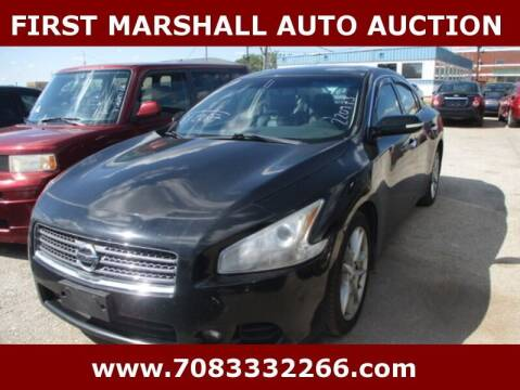 2011 Nissan Maxima for sale at First Marshall Auto Auction in Harvey IL