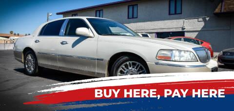 2006 Lincoln Town Car for sale at Rahimi Automotive Group in Yuma AZ