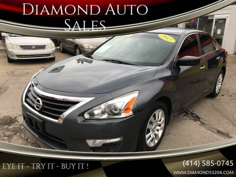 2013 Nissan Altima for sale at Diamond Auto Sales in Milwaukee WI