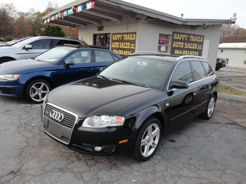 2007 Audi A4 for sale at HAPPY TRAILS AUTO SALES LLC in Taylors SC