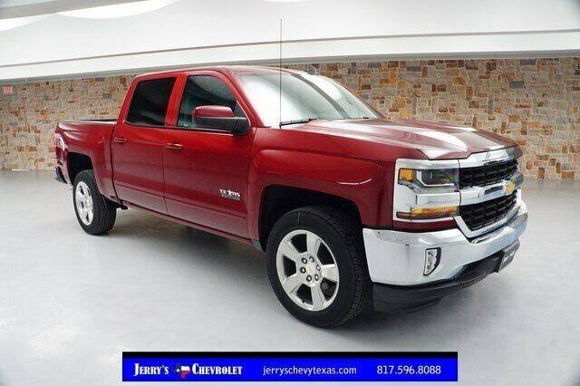 2018 Chevrolet Silverado 1500 for sale at Jerry's Buick GMC in Weatherford TX