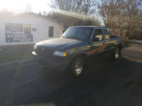 1998 Mazda B-Series Pickup for sale at TR MOTORS in Gastonia NC