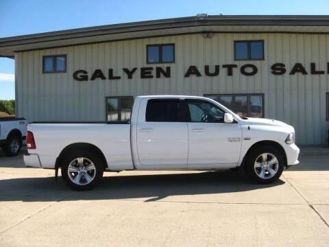 2014 RAM Ram Pickup 1500 for sale at Galyen Auto Sales in Atkinson NE