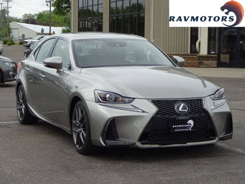 2018 Lexus IS 300 for sale at RAVMOTORS 2 in Crystal MN