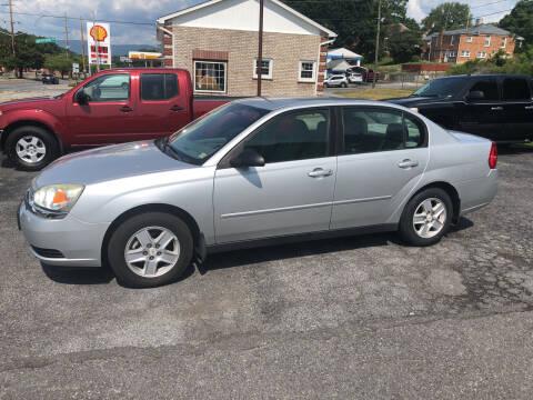 2004 Chevrolet Malibu for sale at J & J Autoville Inc. in Roanoke VA