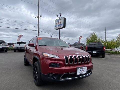 2015 Jeep Cherokee for sale at S&S Best Auto Sales LLC in Auburn WA