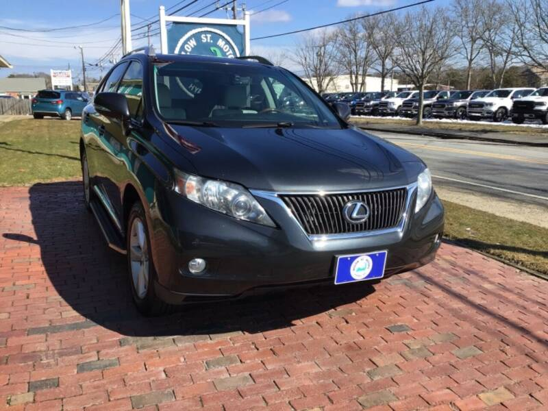 2010 Lexus RX 350 for sale at Willow Street Motors in Hyannis MA
