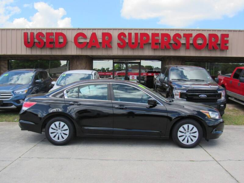 2009 Honda Accord for sale at Checkered Flag Auto Sales NORTH in Lakeland FL