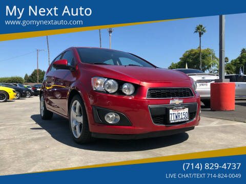 2012 Chevrolet Sonic for sale at My Next Auto in Anaheim CA