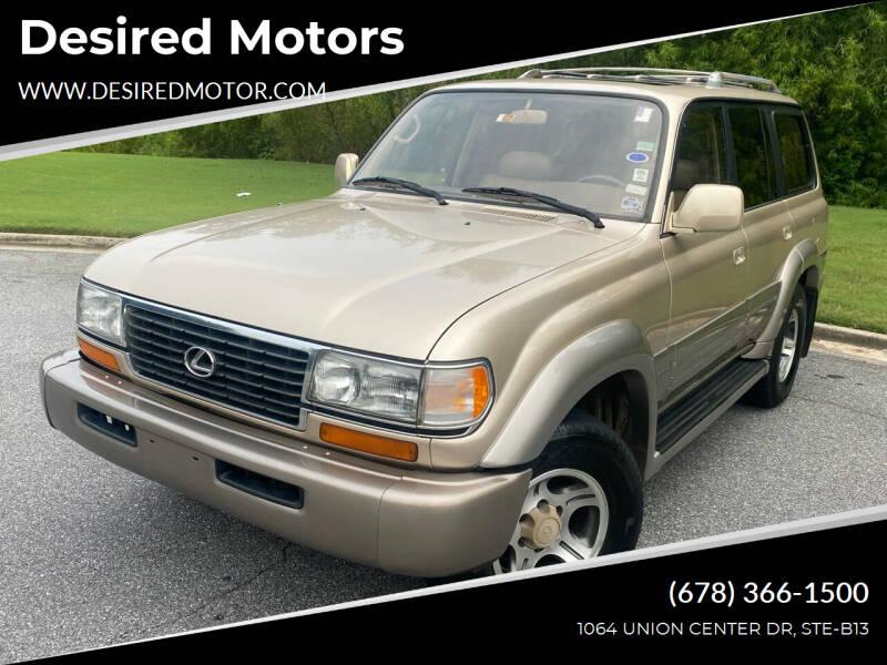 1997 Lexus LX 450 for sale at Desired Motors in Alpharetta GA
