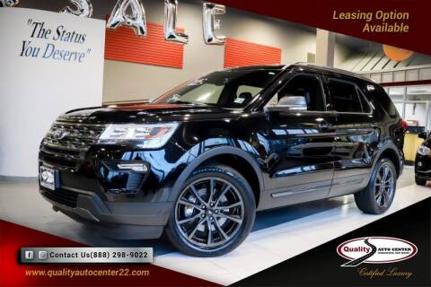 2018 Ford Explorer for sale at Quality Auto Center in Springfield NJ
