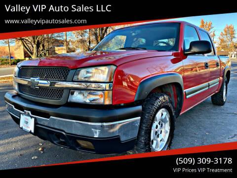 2005 Chevrolet Silverado 1500 for sale at Valley VIP Auto Sales LLC in Spokane Valley WA