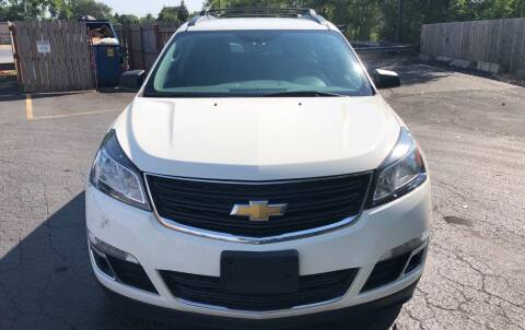 2013 Chevrolet Traverse for sale at Pay Less Auto Sales Group inc in Hammond IN
