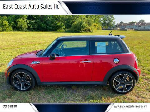 2012 MINI Cooper Hardtop for sale at East Coast Auto Sales llc in Virginia Beach VA