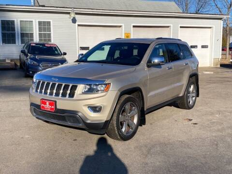 2014 Jeep Grand Cherokee for sale at AutoMile Motors in Saco ME