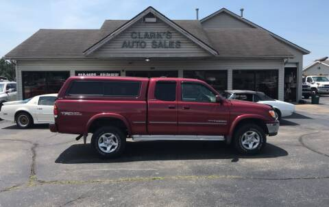 2000 Toyota Tundra for sale at Clarks Auto Sales in Middletown OH