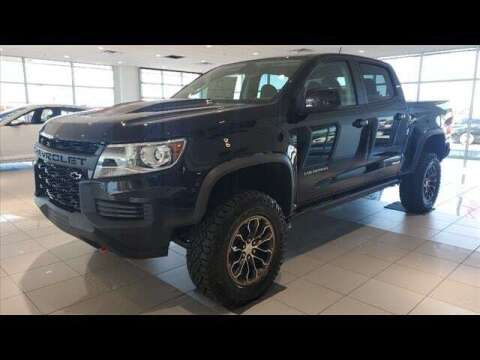 2021 Chevrolet Colorado for sale at Herman Jenkins Used Cars in Union City TN