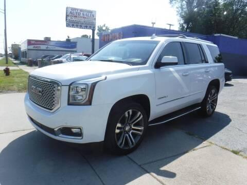 2017 GMC Yukon for sale at City Motors Auto Sale LLC in Redford MI