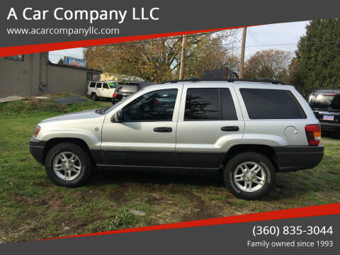 2004 Jeep Grand Cherokee for sale at A Car Company LLC in Washougal WA