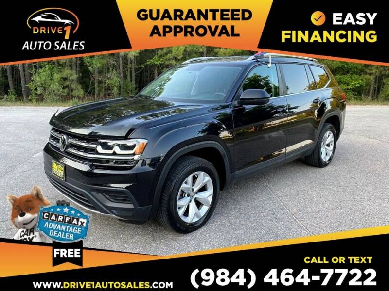 2018 Volkswagen Atlas for sale at Drive 1 Auto Sales in Wake Forest NC