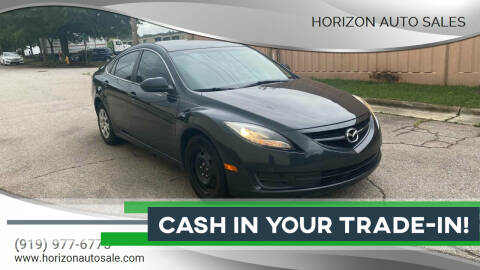 2012 Mazda MAZDA6 for sale at Horizon Auto Sales in Raleigh NC