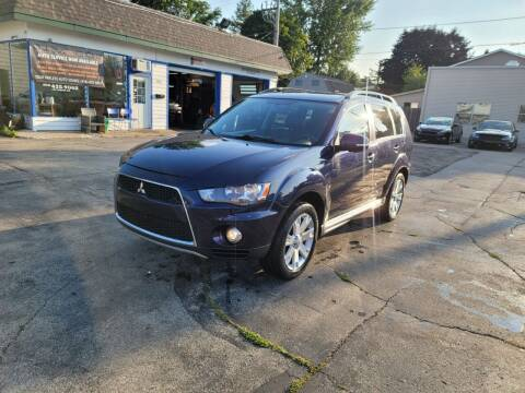 2012 Mitsubishi Outlander for sale at MOE MOTORS LLC in South Milwaukee WI