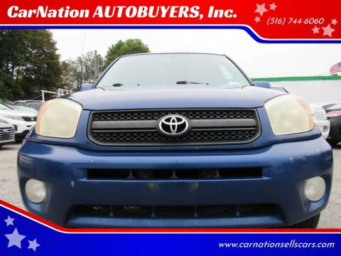 2004 Toyota RAV4 for sale at CarNation AUTOBUYERS, Inc. in Rockville Centre NY