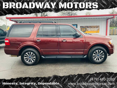 2016 Ford Expedition for sale at BROADWAY MOTORS in Van Buren AR