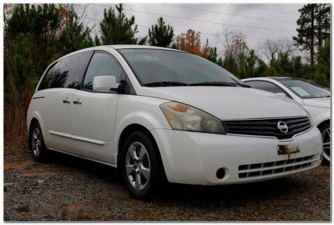2008 Nissan Quest for sale at WHITE MOTORS INC in Roanoke Rapids NC