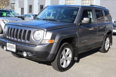 2011 Jeep Patriot for sale at Grasso's Auto Sales in Providence RI