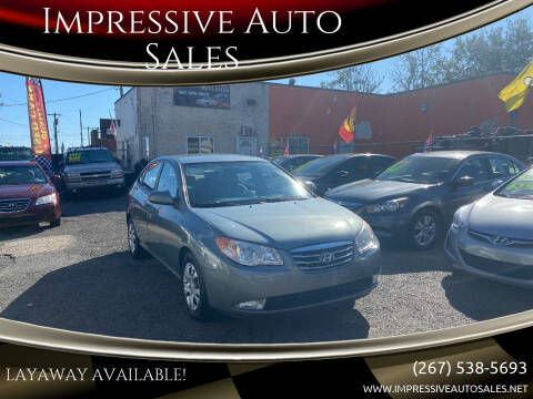 2010 Hyundai Elantra for sale at Impressive Auto Sales in Philadelphia PA